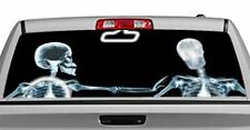 Truck Rear Window Decal Graphic [Miscellaneous / X-ray & Rosie] 20x65in DC15603