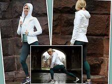 NWT Lululemon Sz 6 White Wind Runner Soft Shell Jacket Vest Snow Rain Run