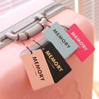 Fashion Suitcase Luggage Tags Labels Baggage Address Card Case 1PC Style