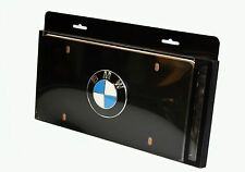 Genuine BMW Black Roundel License Plate BLACK 82121470313, 82 12 1 470 313