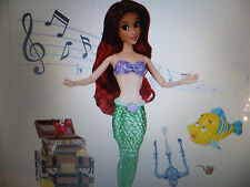"""Disney Ariel Deluxe Singing Doll Set 11""""T Sings Part Of Your World NRFB MIB"""