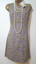FCUK 20'S GATSBY FLAPPER CHARLESTON SEQUIN BEAD EMBELLISHED DRESS SZ 14