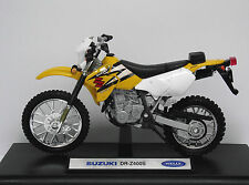 Speed/TOP, SUZUKI  DR-Z 400 S, Motorrad, Moto, Bike, Motorcycle, WELLY 1:18