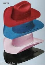 KID'S Straw COWBOY-COWGIRL HAT~COLORS~Western/One Size
