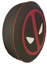 "SpareCover® Brawny Series - DeadPool 27"" Heavy Denim Vinyl Tire Cover"