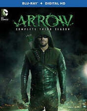 Arrow: The Complete Third Season (Blu-ray Disc, 2015, Includes Digital Copy;...