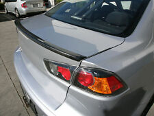 1 Carbon Mitsubishi Lancer EVO X Trunk Deck Lip Spoiler M 2008-2013