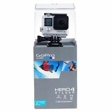 NEW! GoPro HERO4 Silver Camera Built-In Touch Display/Wi-Fi/Bluetooth #CHDHY401