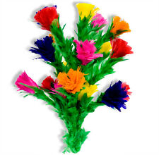 Large PRODUCTION FEATHER FLOWER BOUQUET Sleeve 20 Bud Plume Stage Magic Trick