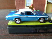 1971 PLYMOUTH DUSTER 340      2001 JOHNNY LIGHTNING MOPAR MUSCLE   1:64 DIE-CAST