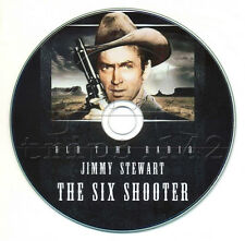 The SIX SHOOTER - Old Time Radio (OTR) Western - Jimmy Stewart MP3 CD