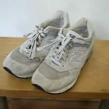 New Balance 580 Encap CM580GR Gray Leather Classic Running Workout Shoes 8 41.5