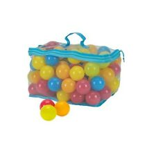 Latest Bag of 100 Multi-Coloured Plastic Play Balls Perfect For Use In Ball Pit