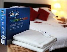 NEW! Silentnight Silent Night Double Electric Under Blanket (Machine Washable)