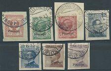 1912 EGEO USATO PISCOPI 7 VALORI - RR1728