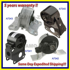 OE Quality Motor & Trans Mount Set 4PCS for 2002-2006 Nissan Altima 2.5L Auto