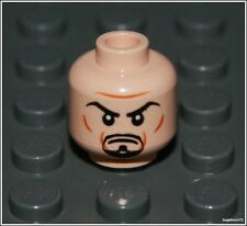 Lego Indiana Jones x1 Flesh Head Goatee Angry City Castle Man Minifigure NEW