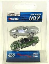 James Bond 007 Corgi Twin 2 Pack Die Another Day Aston Martin & Jaguar XKR Mint