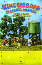 KING GIZZARD & THE LIZARD WIZARD Paper Mache Dream Balloon 2015 Ltd Ed Poster!