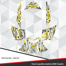 SLED WRAP DECAL STICKER GRAPHICS KIT FOR SKI-DOO REV MXZ SNOWMOBILE 03-07 SA0139