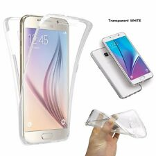 Shockproof 360° Protective Crystal Clear Gel Phone Case Cover Samsung Galaxy S6
