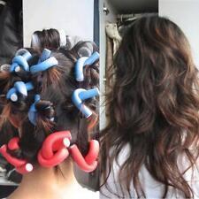 10PCS Women DIY Curler Makers Soft Foam Bendy Twist Curls Styling Hair Rollers