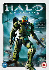 HALO LEGENDS - DVD - REGION 2 UK