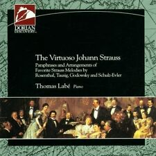 The Virtuoso Johann Strauss :   Thomas Labe : Piano