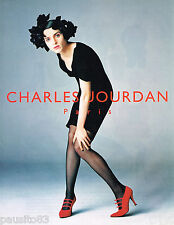 PUBLICITE ADVERTISING 065  1995  CHARLES JOURDAN  collection  chaussures