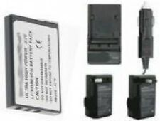 Battery +Charger f/ Aiptek 8800LE 8800N H100 T200 DDVV1
