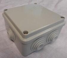 PLASTIC ENCLOSURE TERMINAL BOX ADAPTABLE GEWISS GW44004 100X100X50MM