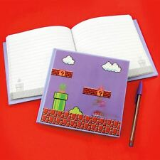 Official Super Mario Bros. 100 Page Notebook with 3D Motion Front Cover