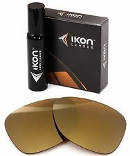 Polarized IKON Iridium Replacement Lenses For Oakley Monte Frio 24K Gold Mirror