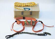 1/6 Soldier Story USAF PJ Rappeling Belt Lanyard Carabiner and Rope Set