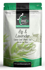 Fig and Lavender Loose Leaf Black Tea 1 oz. Inc. 10 Free Tea Bags