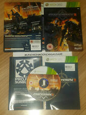 Crackdown 2 Steelbook PAL Microsoft XBox 360 15 2010 Ruffian Unsleeved Shooter
