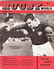 TONY O'REILLY FRONT COVER & PROFILE RUGBY WORLD MAGAZINE DECEMBER 1960 EDITION