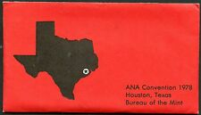 ANA CONVENTION 1978  UNITED STATES BUREAU OF THE MINT OFFICIAL SET
