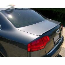 * 05-08 For Audi A4 S4 B7 Sedan Saloon Boot Trunk Lip Spoiler Wing Unpainted