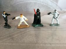 """GALOOB STAR WARS MICRO MACHINES  CLASSIC CHARACTER LOT OF ( 3/4"""" ) FIGURES USED"""