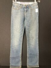 NWT GAP KIDS GIRLS LIGHT WASH SKINNY JEANS SIZE 10 L27 ADJUSTABLE WAIST