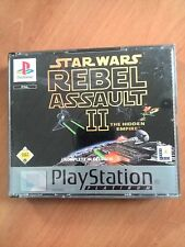 STAR WARS REBEL ASSAULT 2     PS1