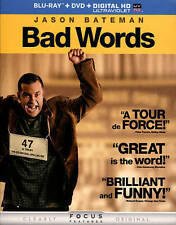 Bad Words  Blu-ray + DVD + DIGITAL HD with UltraViolet  2015 by Jas *Ex-library*