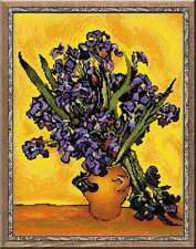 "Counted Cross Stitch Kit RIOLIS - ""Irises after Van Gogh`s Painting"""