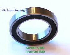 (Qty.2) 6803-2RS Premium 6803 2rs seal bearing 6803 ball bearings 6803 RS ABEC3