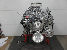 CHEVY 350 HI PERFORMANCE ROLLER ENGINE TURN KEY 400+HP LOADED CR# EHRB 50