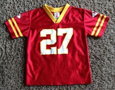 KANSAS CITY CHIEFS # 27  L. JOHNSON  JERSEY  BY  NFL PLAYERS  YOUTH  LARGE ( 7 )