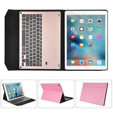 For iPad Pro 9.7inch Ultra-thin Bluetooth Keyboard Smart Faux Leather Case Cover
