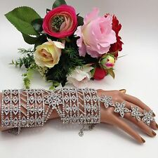Indian Bridal/Party Wear Bracelet With Adjustable Ring