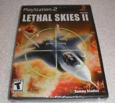 PS 2 Lethal Skies II video game Brand new Factory Sealed